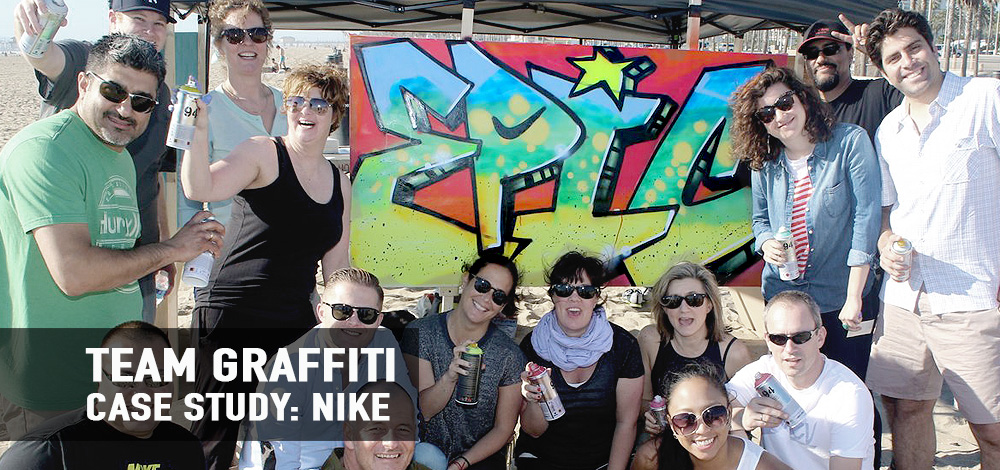 Graffiti Team Building