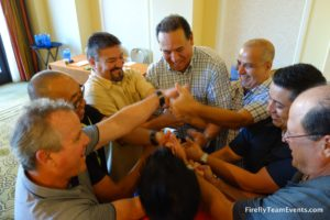 orange county corporate team building event ice breaker game