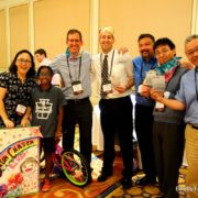 Corporate team building bicycle build event