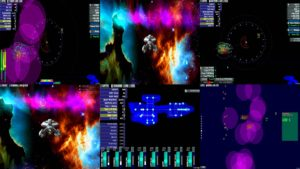 screen capture artemis space simulator
