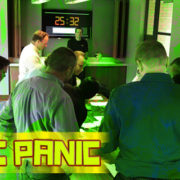 corporate group team building escape room