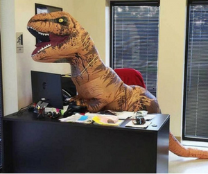 t-rex office Halloween costumes