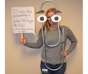 Microsoft paperclip office Halloween costumes