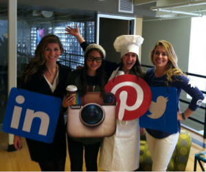 social media icons office Halloween costumes