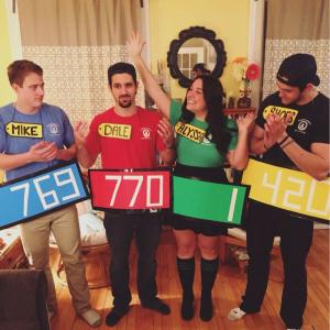 gameshow office Halloween costumes