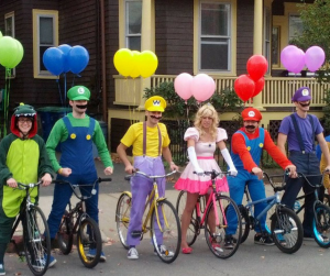 Mario Party office Halloween costumes