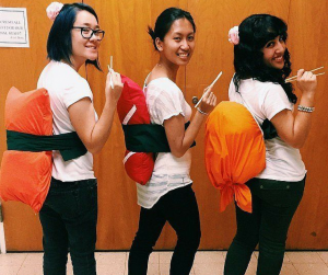 sushi office Halloween costumes
