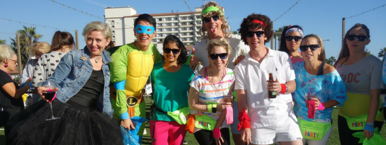 80s themed team building