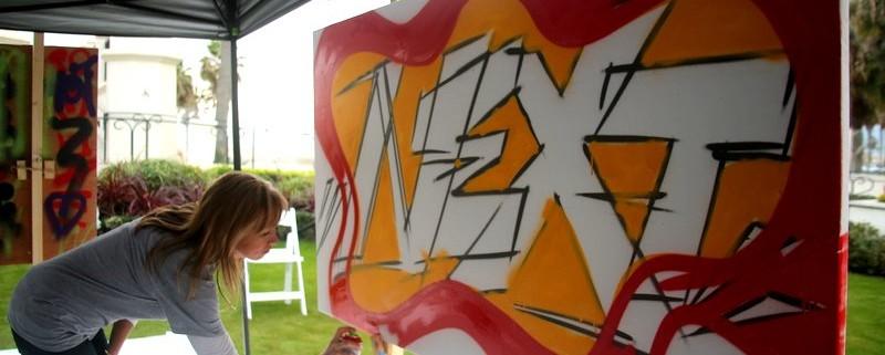 team building graffiti
