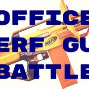 office team building nerf battle