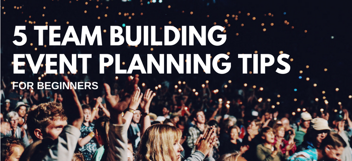 team building event planning