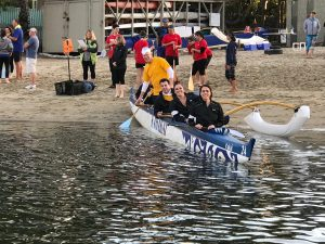 outrigger canoe team building