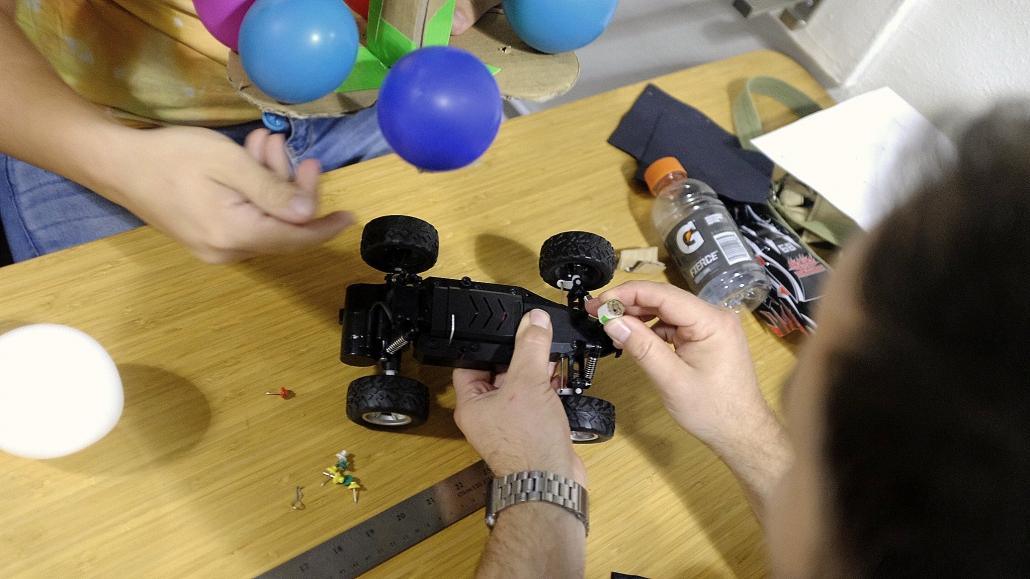 remote control car team building design